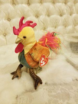 Zodiac beanie baby rooster