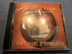 Civil War Songs CD, Songs from the Homefront, Wayne Erbsen, New!