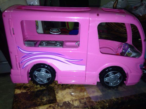 free barbie car
