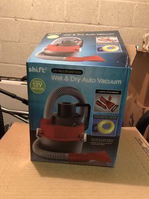 Wet/dry new portable vacuum.