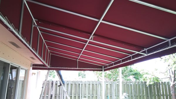 awning manufacturer toldos retractables general in hialeah fl
