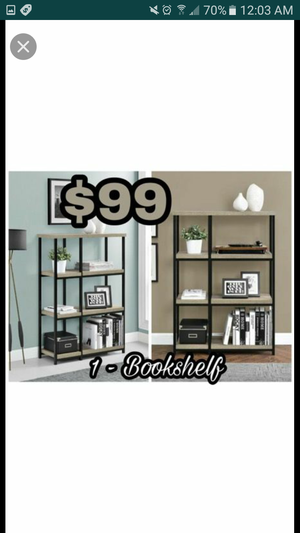 1 bookcase