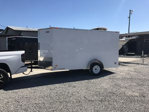 Freedom 6x12 enclosed trailer