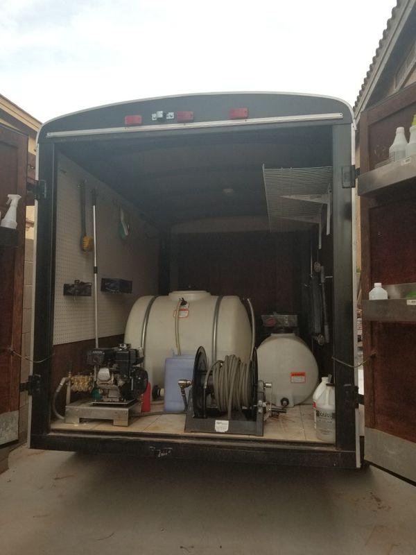 Mobile Detail Trailer for Sale (Cars & Trucks) in Chandler, AZ - OfferUp