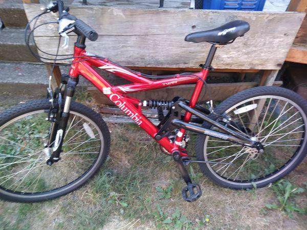 Men S Columbia 19in Frame Twin Peak Mountain Bike Full Suspension