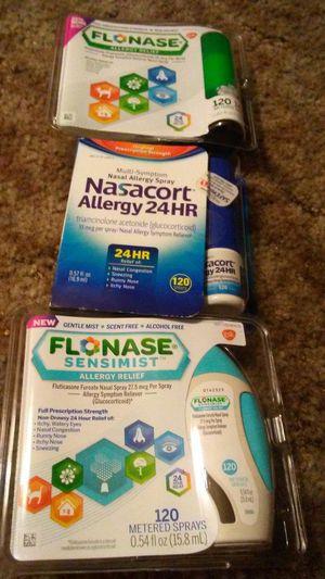 Brand new, unopened Flonase & Nasacort