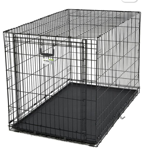 Top Paw Folding Double Door Crate X Large 4875 In L X 3025 In W X