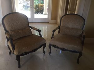 ESTATE SALE - Expensive quality chairs for cheap!