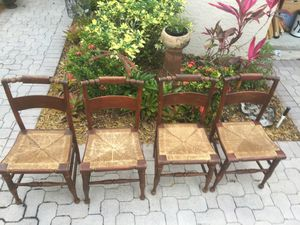 Antique Hancock Chairs made 1900ca.