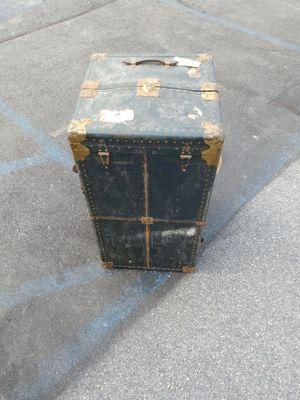 Large antique trunk Railways