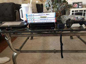 Wii U 4 games with controls
