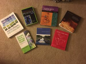 Psychology/Mental Health Counseling Textbooks