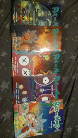 Rick and morty graphic novels 1-5