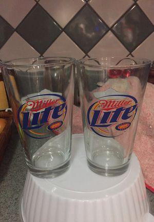 2 beer glasses