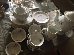 Vintage china set new very nice