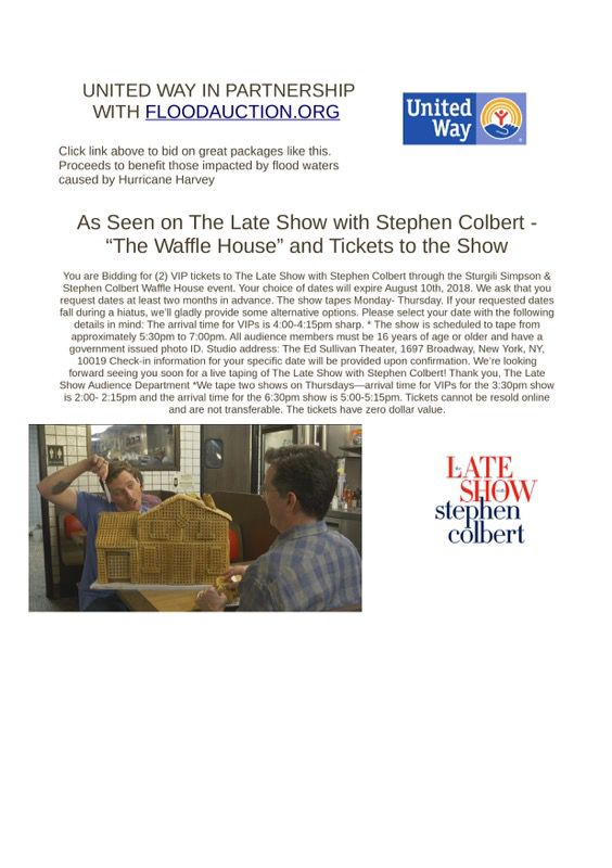 A $1,000 Gift Card, Tickets to The Late Show With Stephen Colbert ...