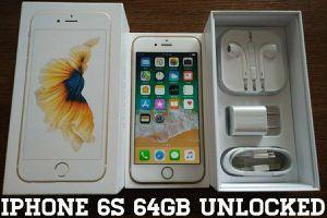 Iphone 6S 64GB UNLOCKED (Like New) Gold