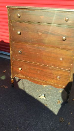 Beautiful Antique Solid Wood Corner dresser