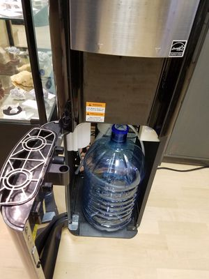 5 empty water jugs