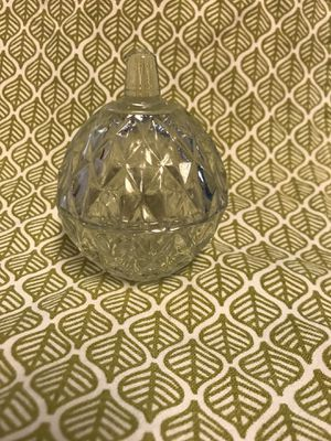 Antique Glass Ring and Jewelry Holder