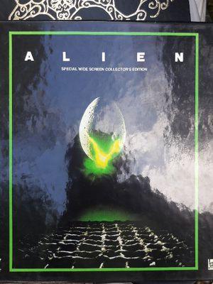 Alien movie laserdisc