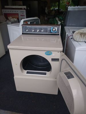 OLD SCHOOL HEAVY DUTY HOTPOINT DRYER IN NEW LIKE CONDITION 3 MONTHS WARRANTY FREE DELIVERY