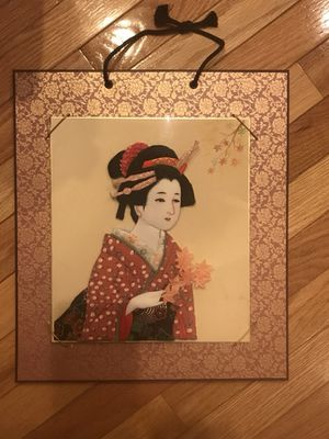 Japanese handcraft - Oshie Artwork