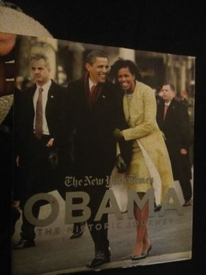The New York Times Obama The Historic Journey Book