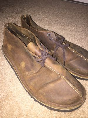 Brown Leather Clarks