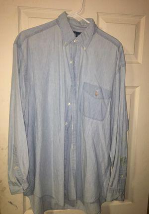 Men's Polo Button Up - Size M (kinda big)