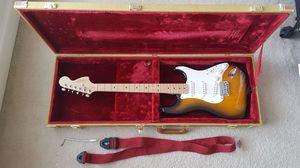 LIKE NEW Fender Squier Affinity,Fender Mustang 20W amp,Fender hardcase