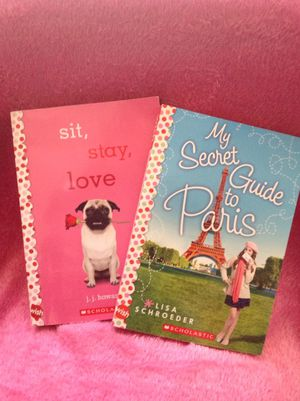 Sit stay love and my secret guide to Paris books