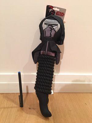 Star Wars Kylo Ren Rope Dog Toy New