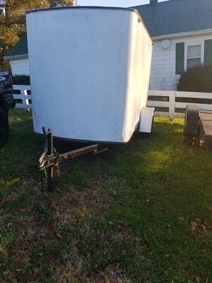 1996 5x10 enclosed trailer