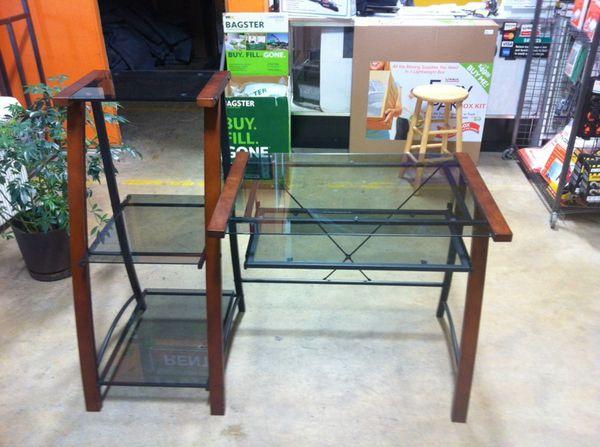 Glass Computer Desk Furniture In Columbia Md Offerup