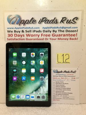 L12 - iPad Air 1 128GB Cell-ATT