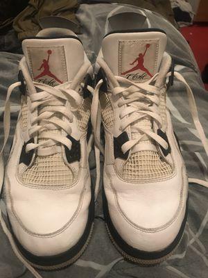Jordan 4 white cement size 13