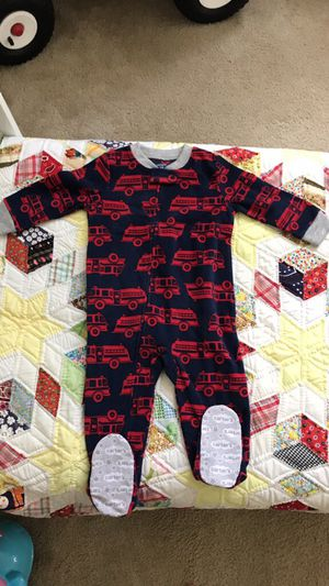 Toddler fleece pjs with footie - never used