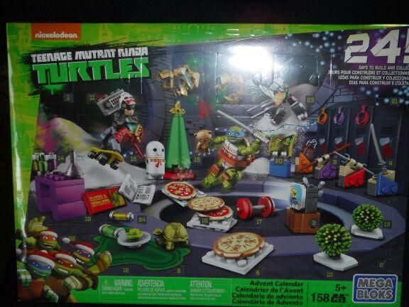 Mega Bloks Teenage Mutant Ninja Turtle advent calendar (Games & Toys ...