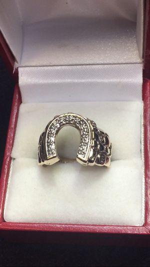 27 European cut antique round diamond With handmade slide pendant