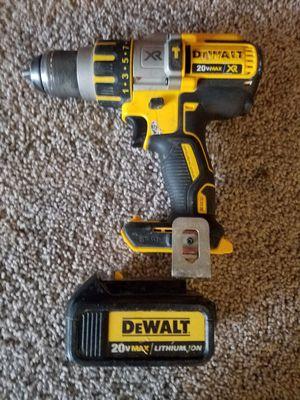 Hammer drill brusschless dewalt