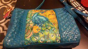Sharif peacock purse