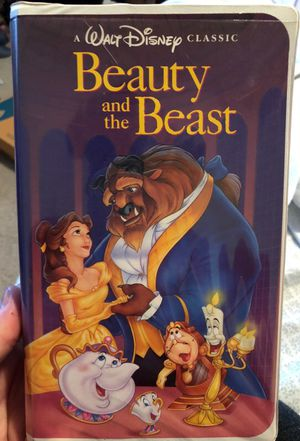 Beauty and the beast VHS (1991)