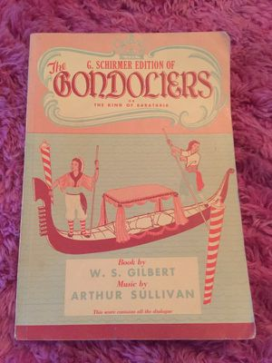 The Gondoliers Score