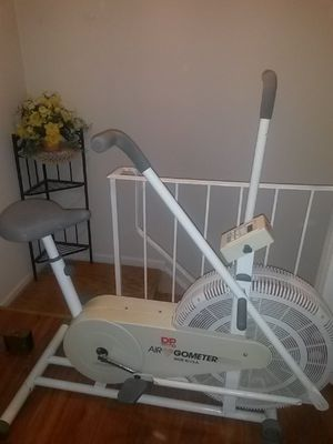 Exercising bicycle made in U. S. a