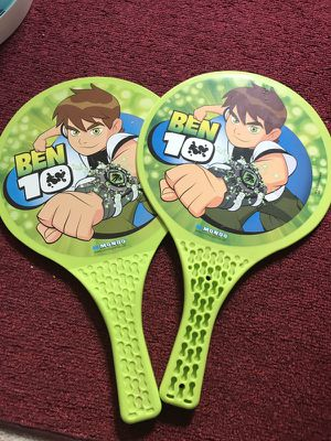 Two Ben 10 rackets