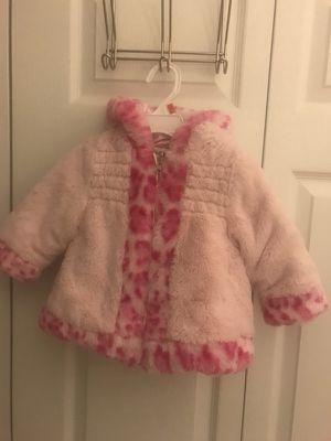 Pistachio girls winter coat. size 12m in excellent condition