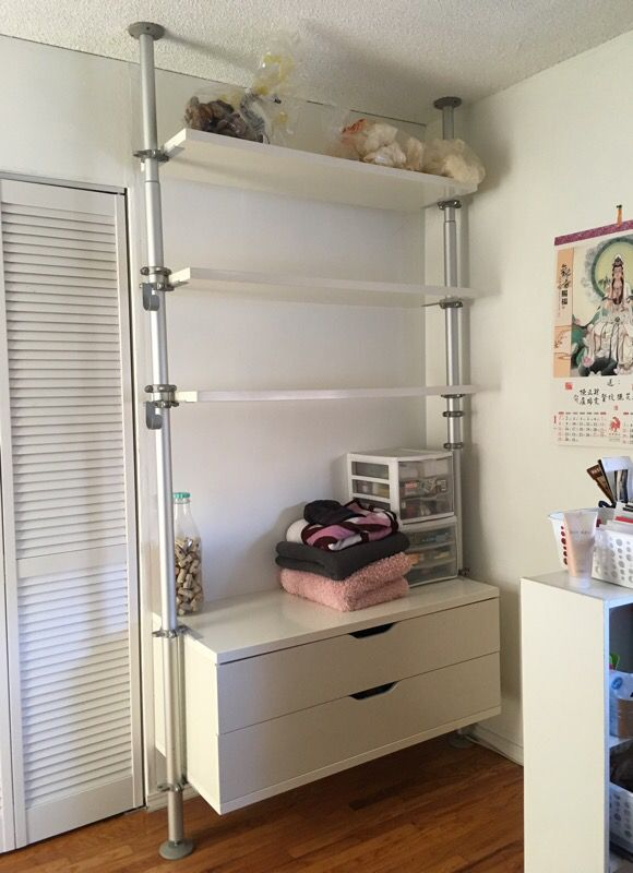 ikea stolmen system shelves furniture in sunnyvale ca. Black Bedroom Furniture Sets. Home Design Ideas