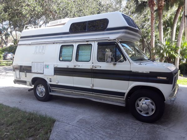 1988 Ford Econoline Conversion Camper Van
