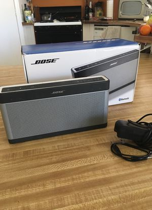 Bose soundlink lll used good condition..